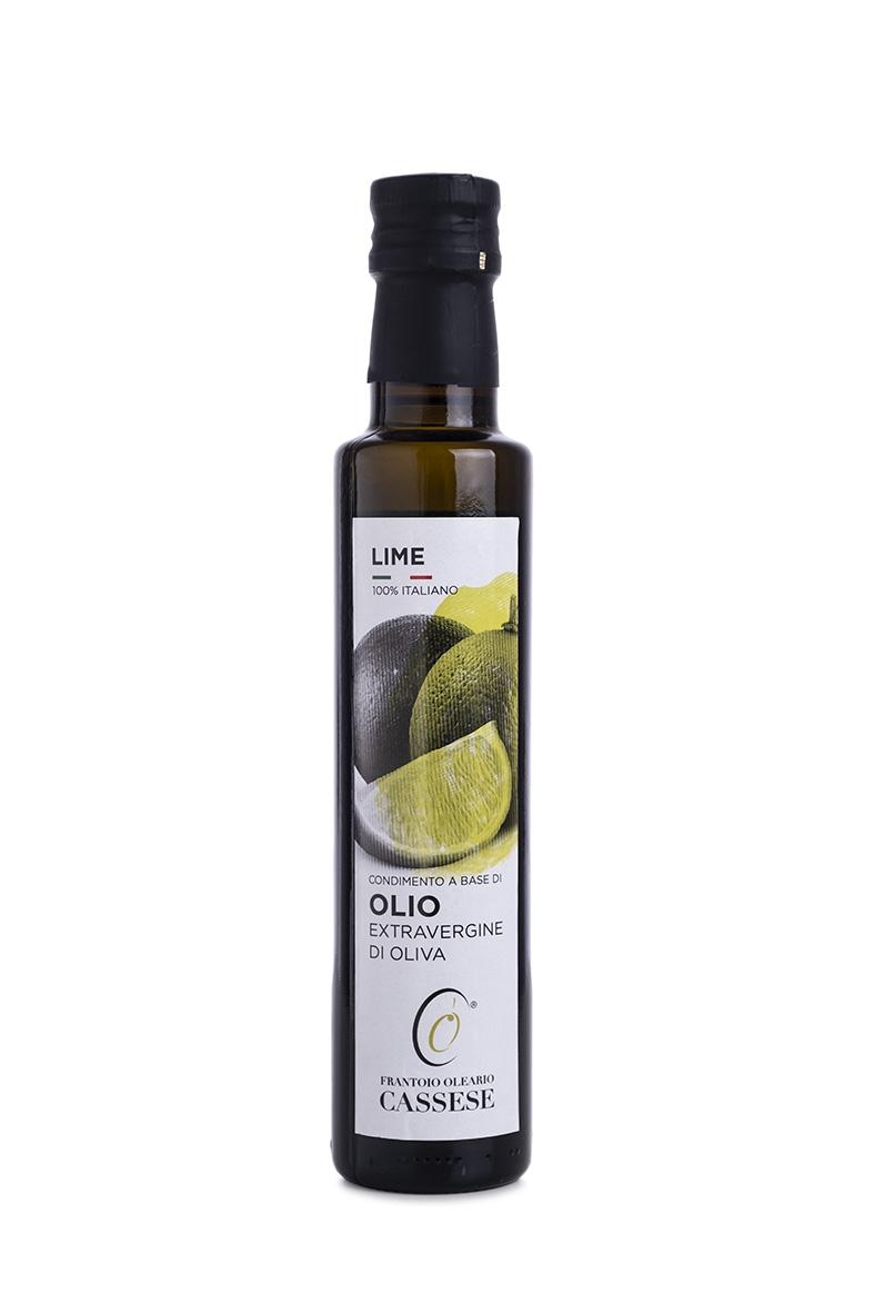 Olio EVO aromatizzato al Lime 100% Italiano - Frantoio Oleario Cassese