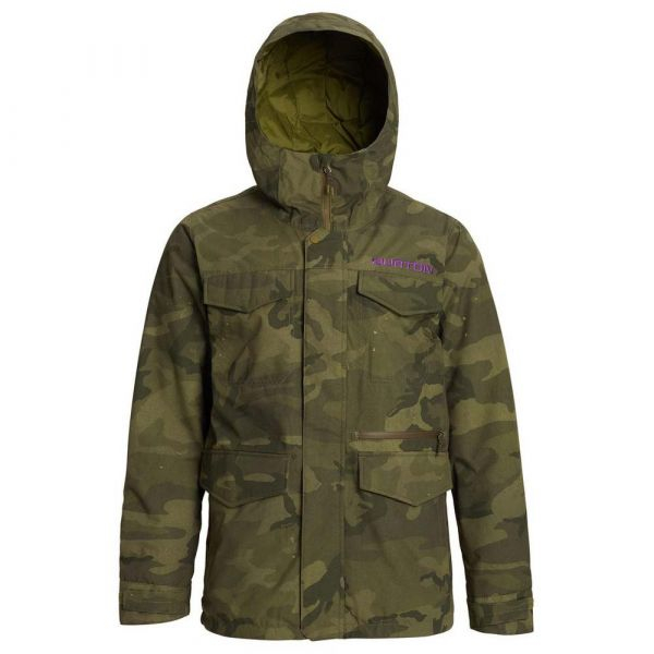 Burton Covert Worn Camo