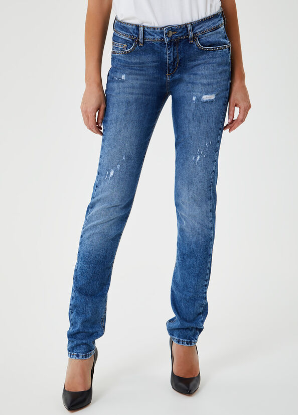 LIU JO JEANS UF0016D3105 jeans b.up magnetic reg.w.