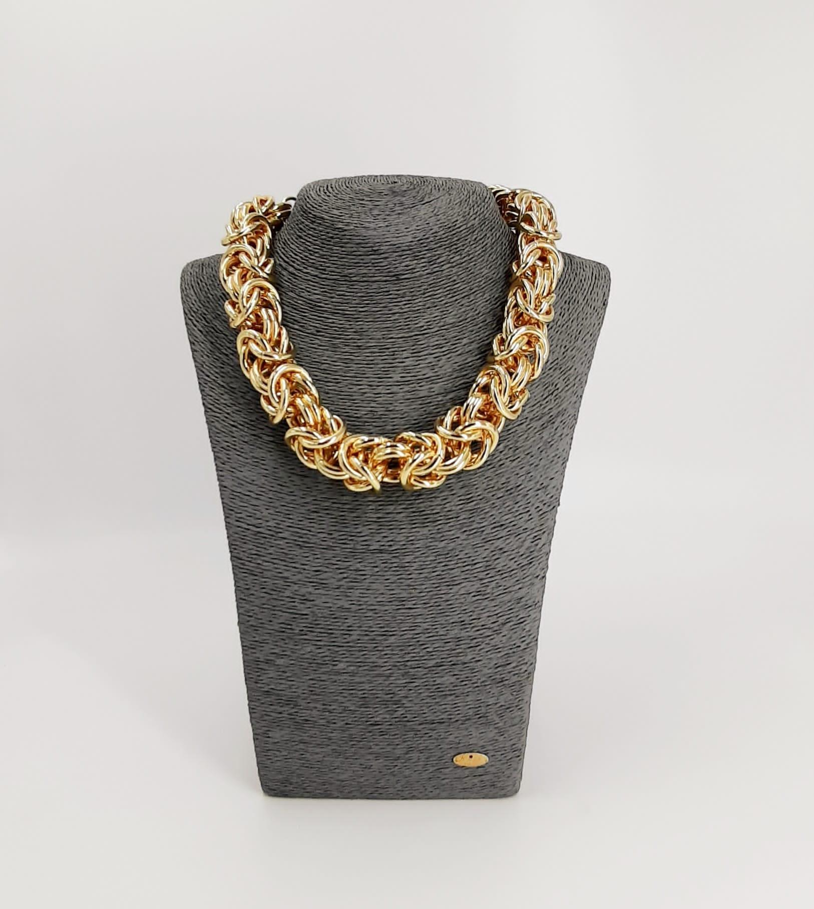 Collana oro tortiglione Francesca Bianchi Design