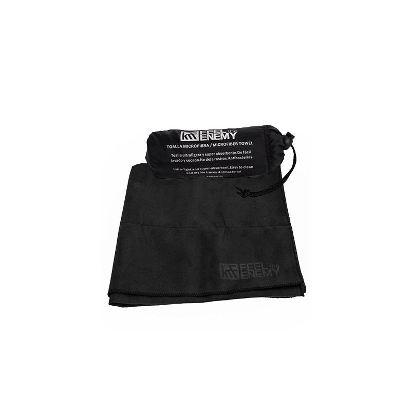 Asciugamano Microfibra Nero