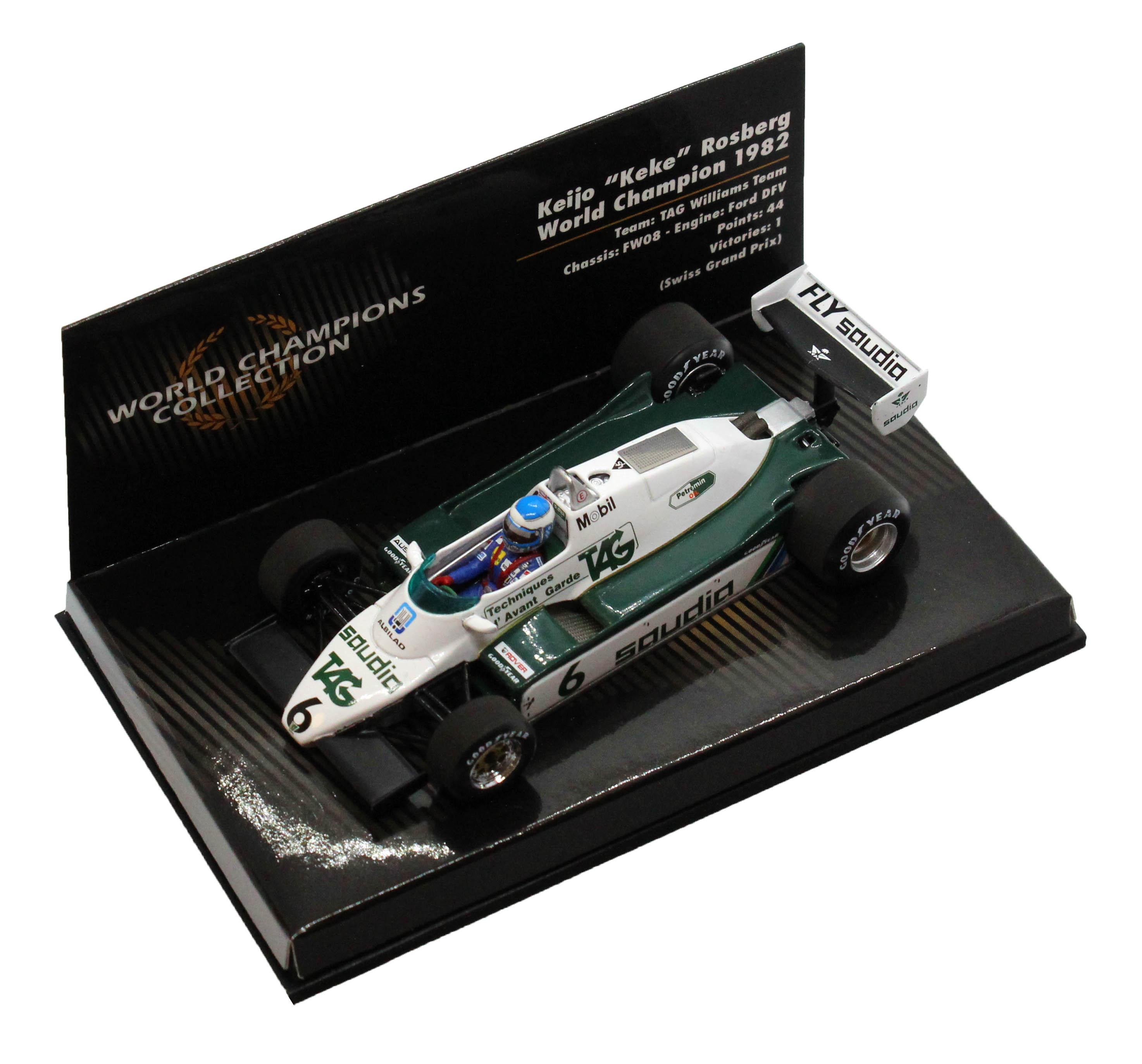 TAG Williams Team FW08 Ford Dfv Keijo