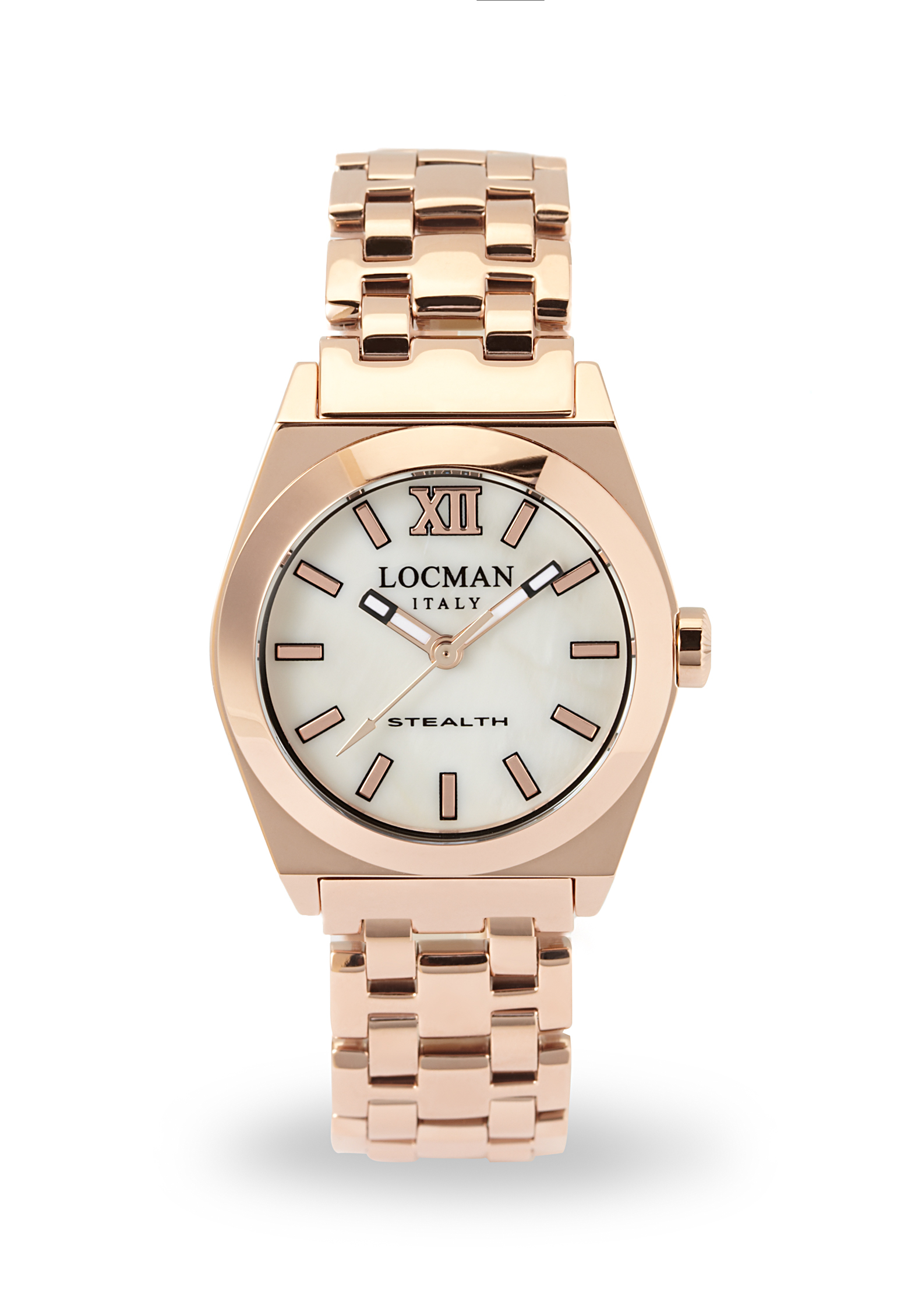 STEALTH ACCIAIO SOLO TEMPO LADY IP ROSE GOLD