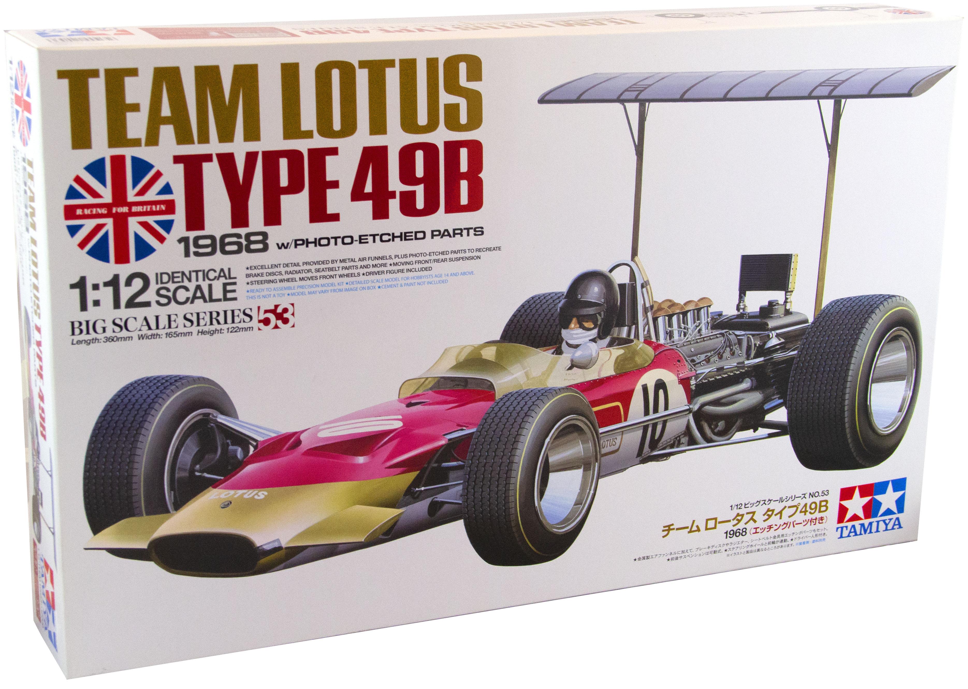 Kit Team Lotus Type 49B 1968 1/12