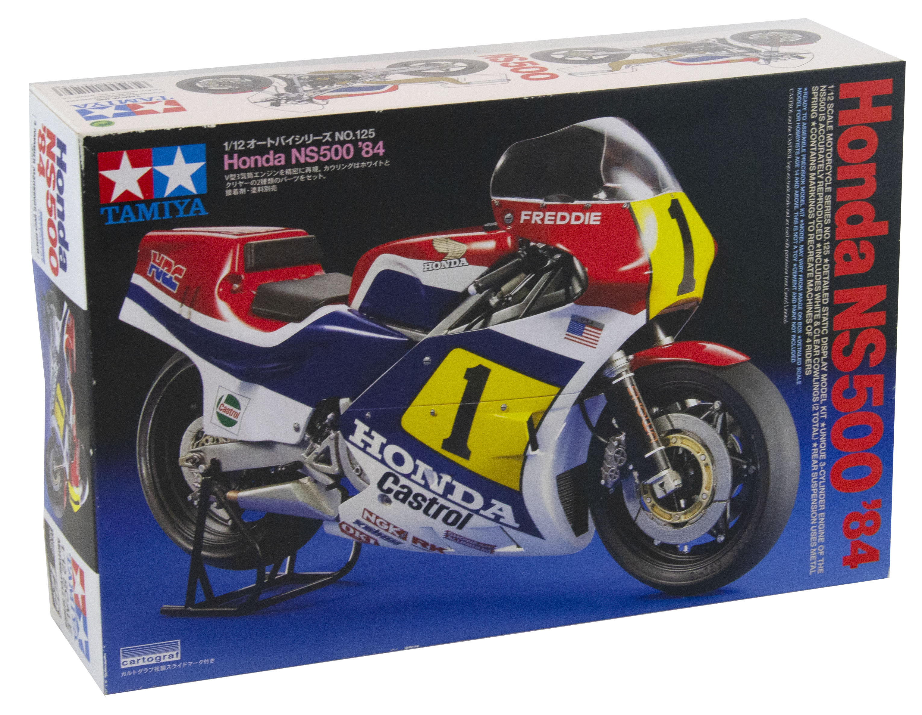 Kit Bike Honda Ns500 1984 1/12