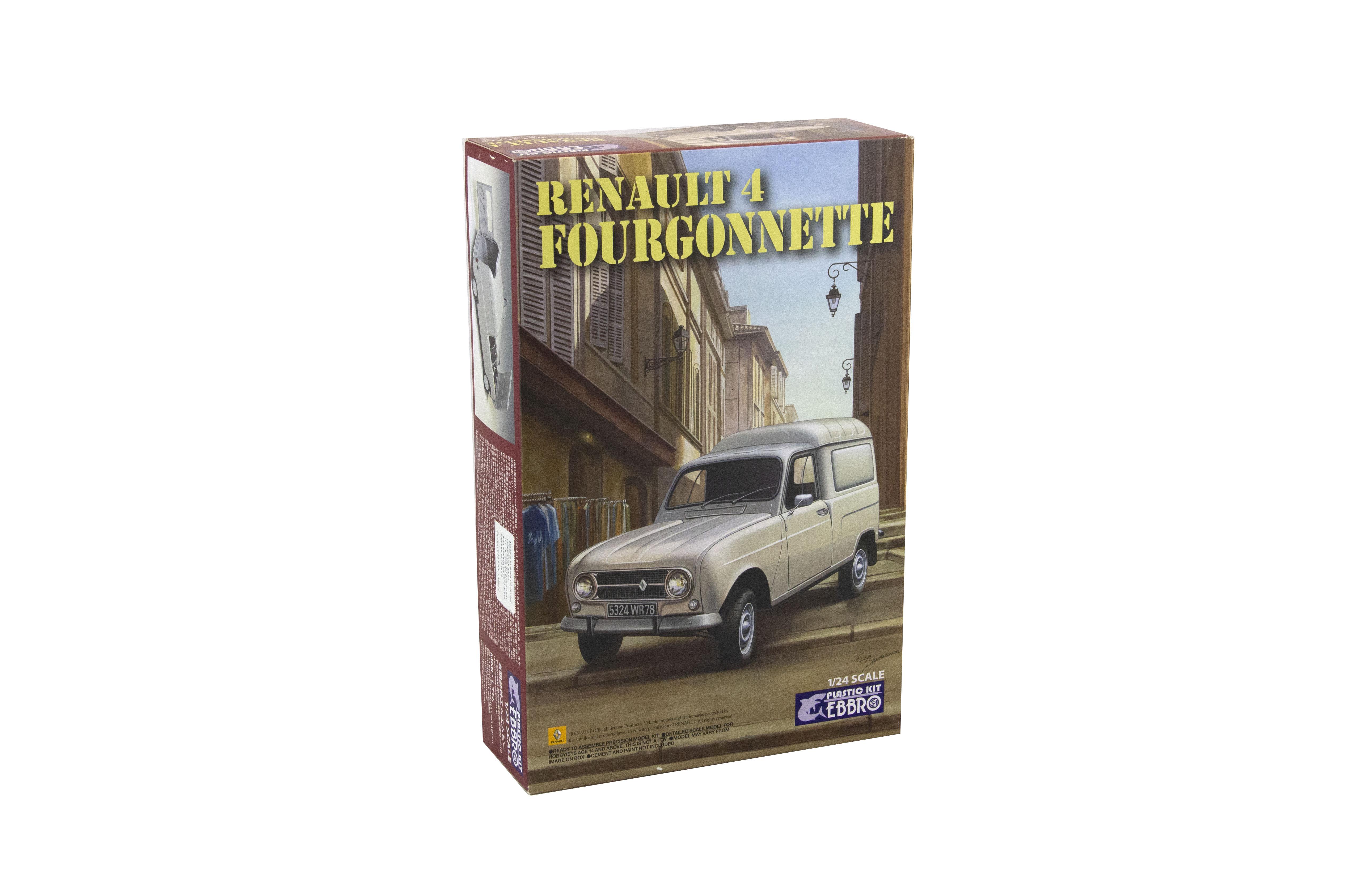 Kit Renault 4 Fourgonnette 1/24
