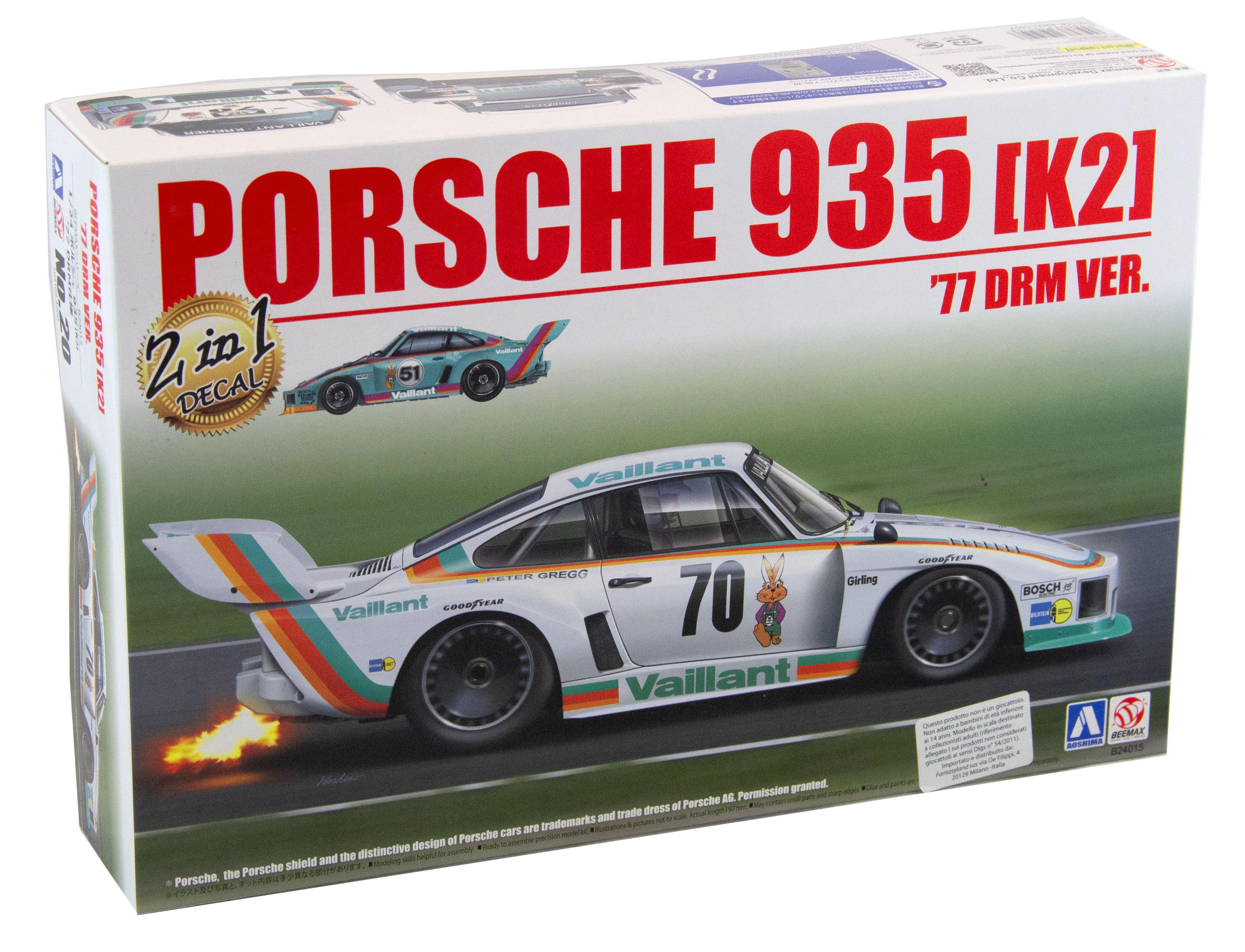 Kit Porsche 935 K2 1977 Drm Version 1/24