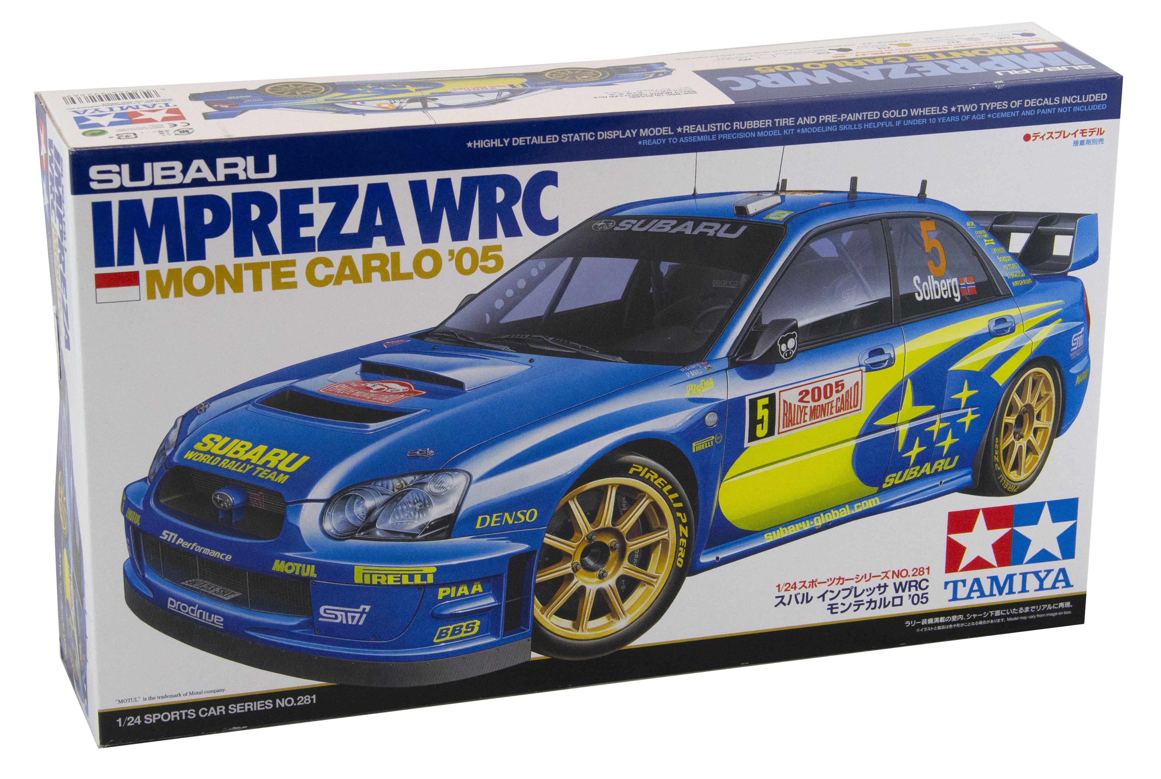 Kit Subaru Impreza WRC Montecarlo 2005 1/24