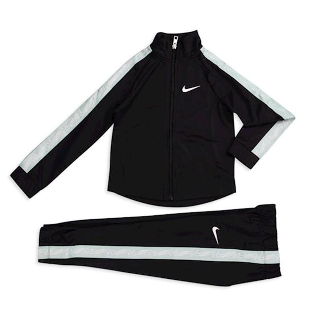 Nike tuta con zip e banda