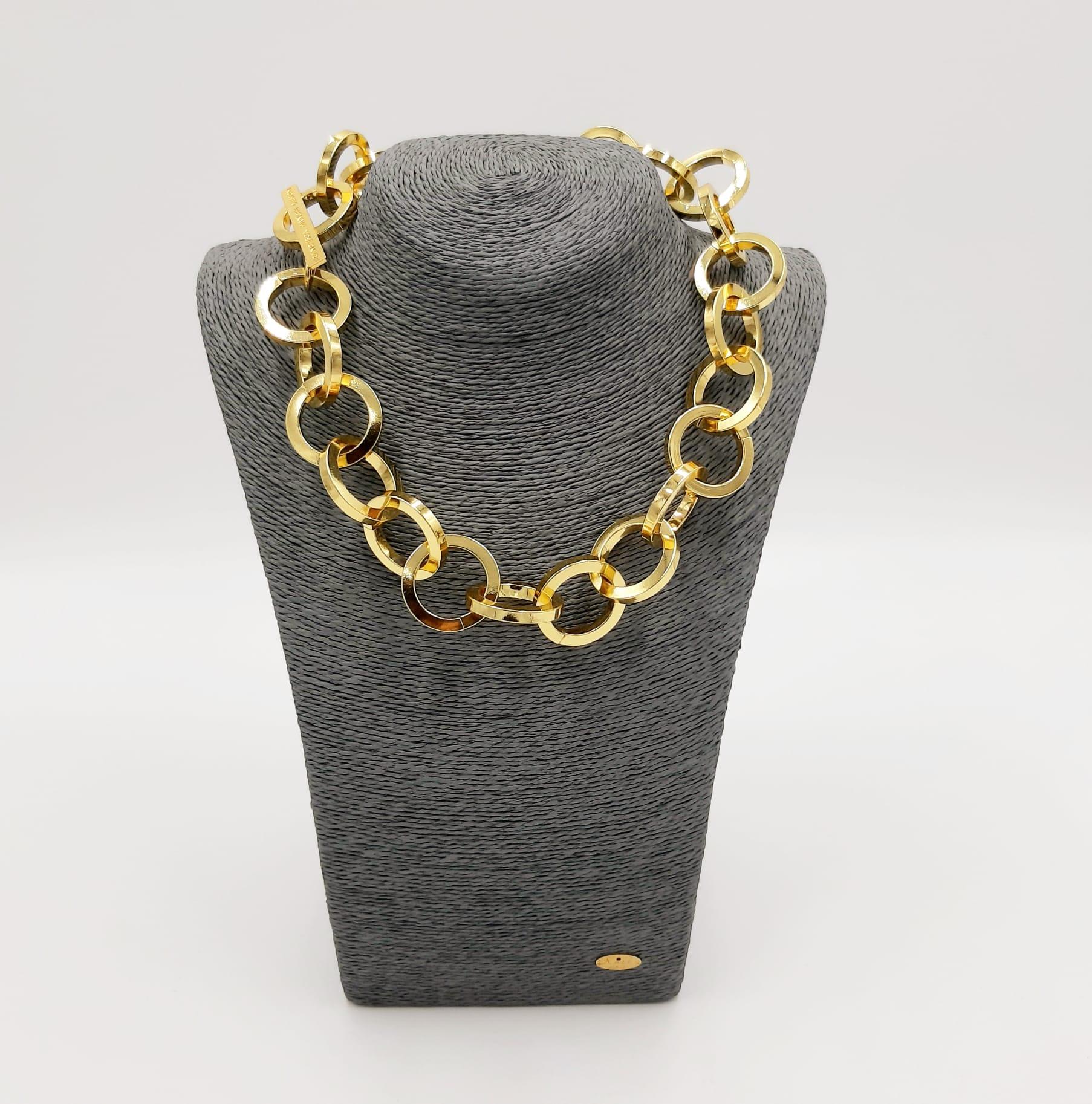 Catena girocollo oro Francesca Bianchi Design