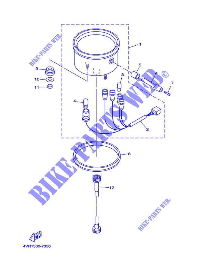 Manopola Tachimetro Yamaha XVS Drag Star/SRX