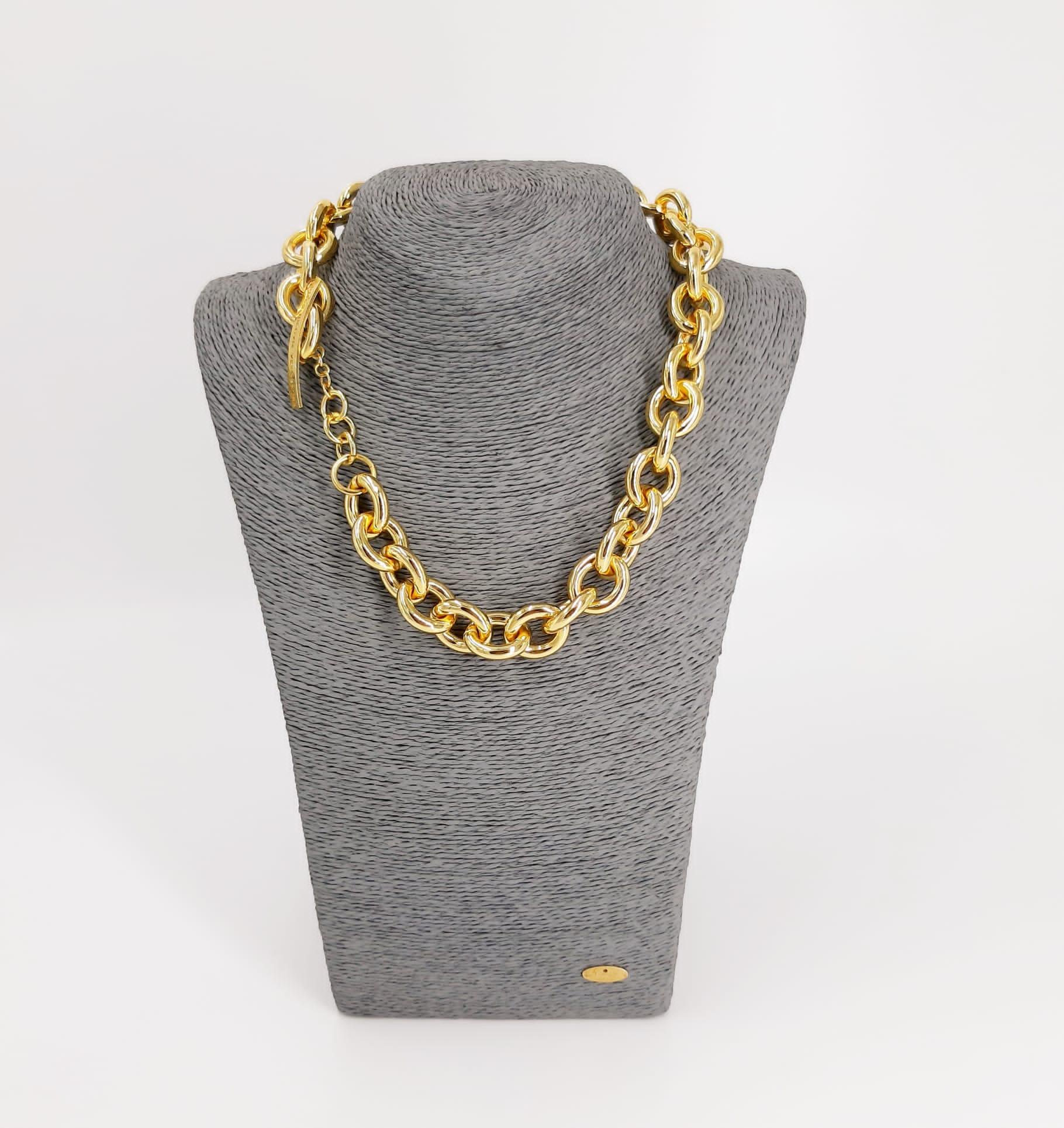 Catena placcata oro Francesca Bianchi Design