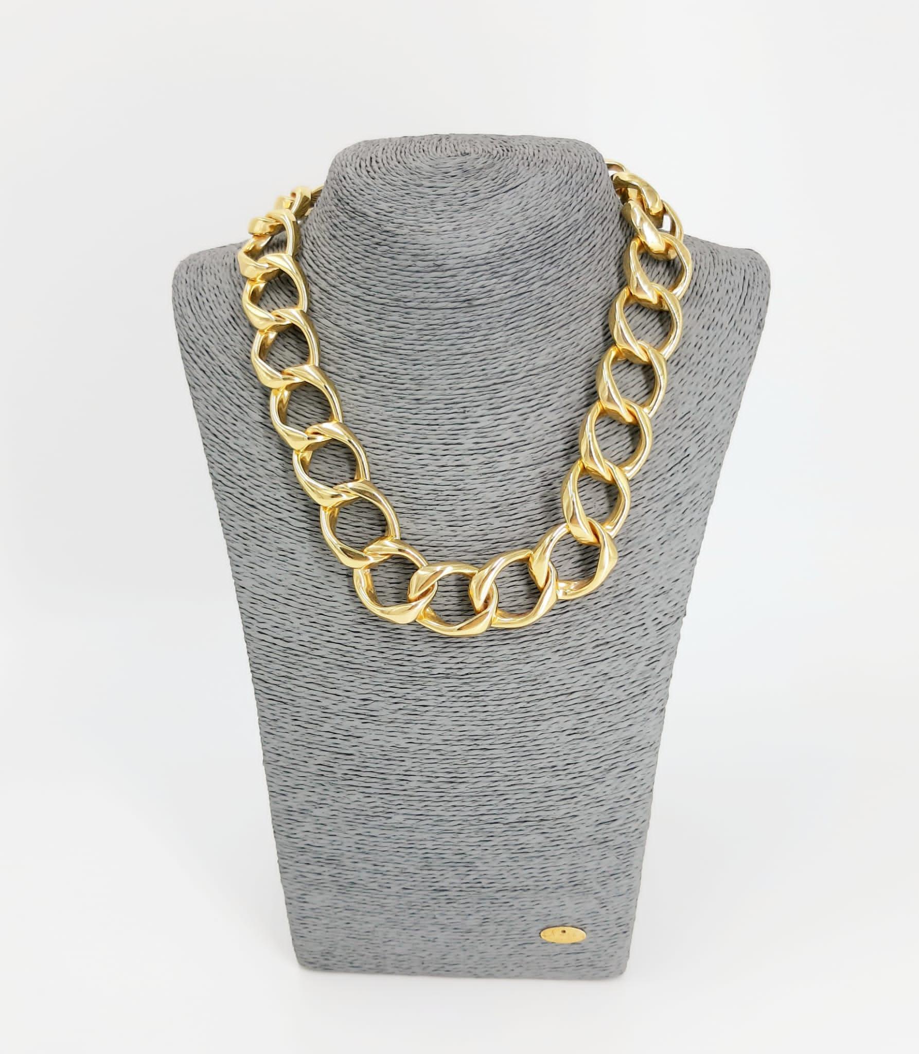 Catena in oro Francesca Bianchi Design