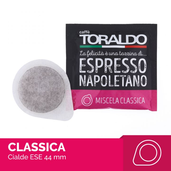 Caffè Toraldo miscela classica box 150 cialde ESE carta filtro compostabile