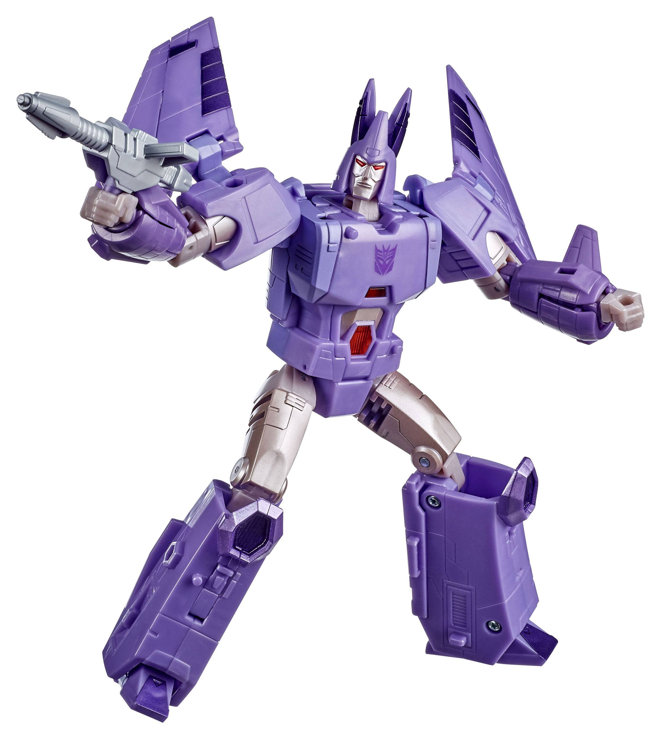 Transformers Generations War for Cybertron Action Figures: CLASS VOYAGER - CYCLONUS by Hasbro