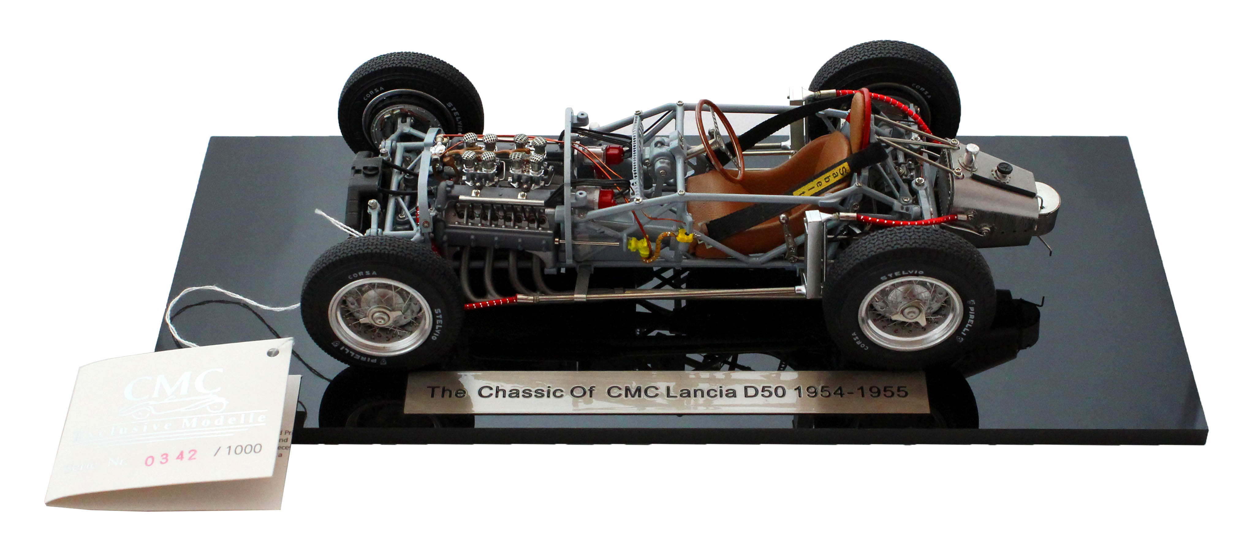 Chassis of CMC Lancia D50 1954-1955