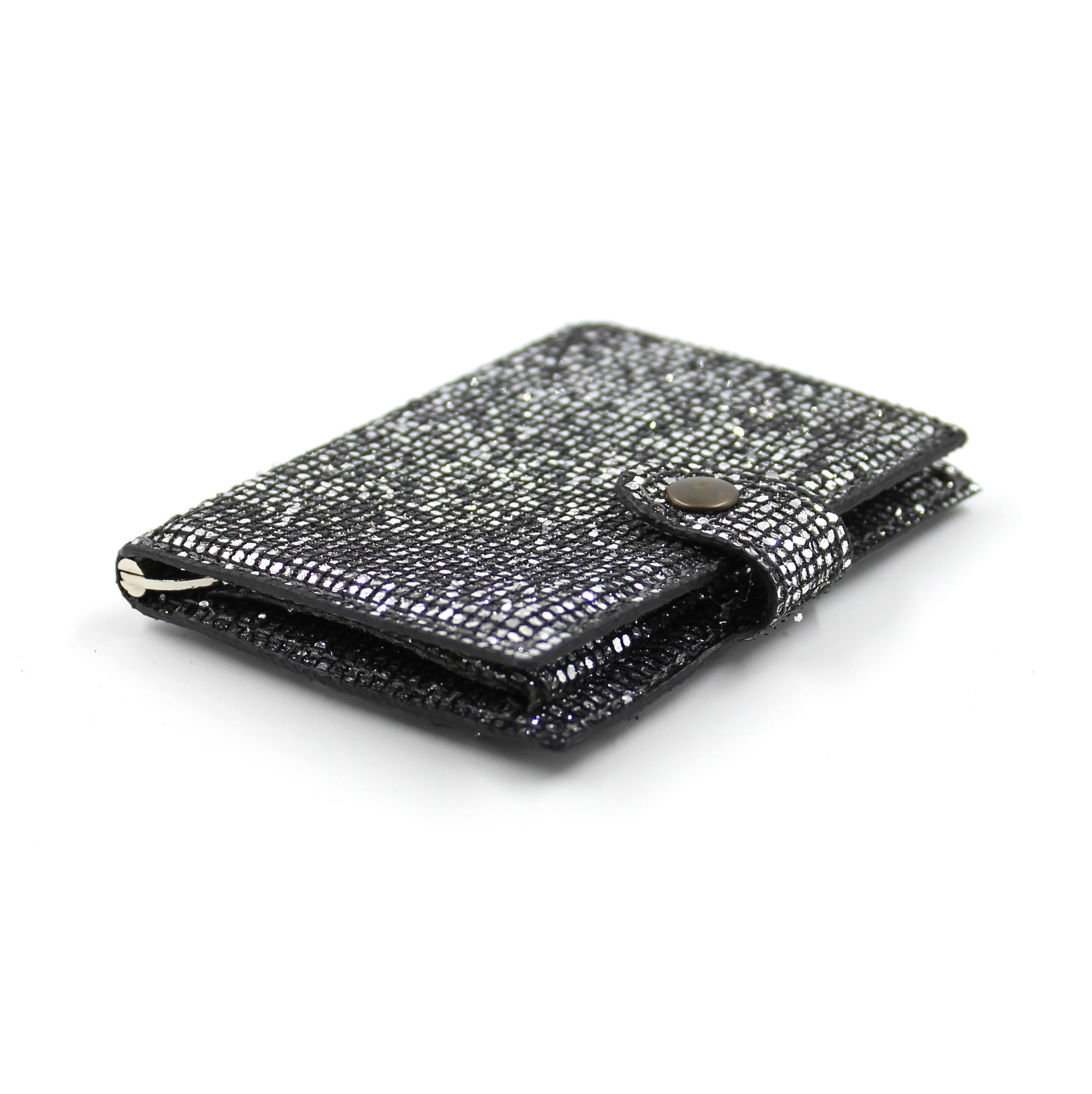 IClutch Woman glitter - grigio scuro