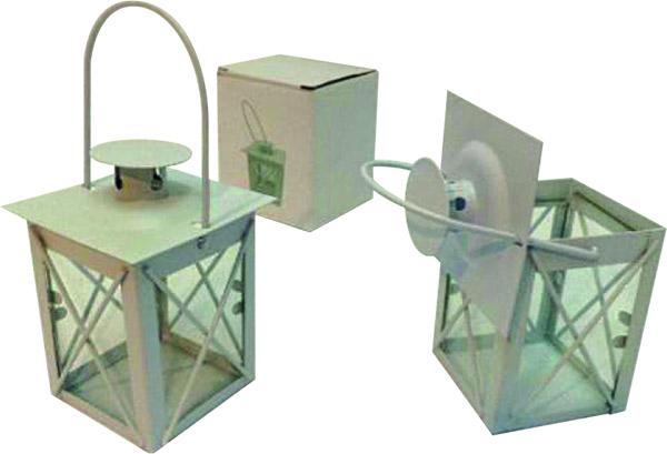 Lanterna in metallo cm. 14,5
