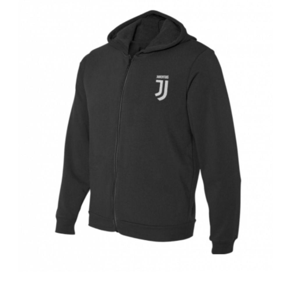 Felpa 6 anni Juventus con cappuccio nera