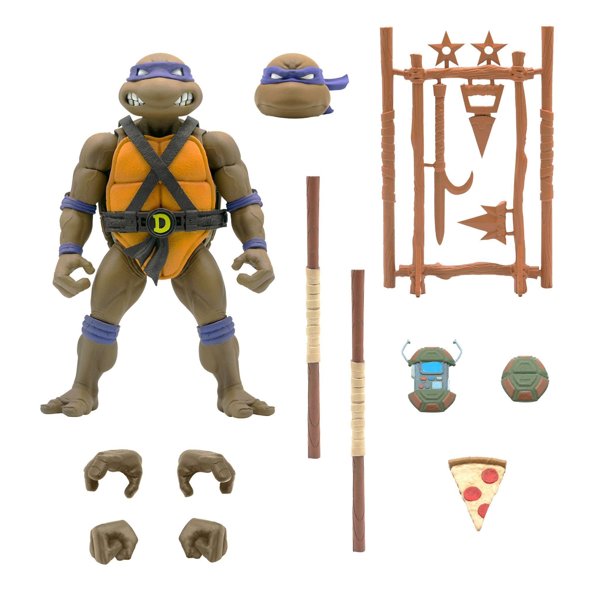 *PREORDER* Teenage Mutant Ninja Turtles: Ultimates Action Figure DONATELLO by Super 7