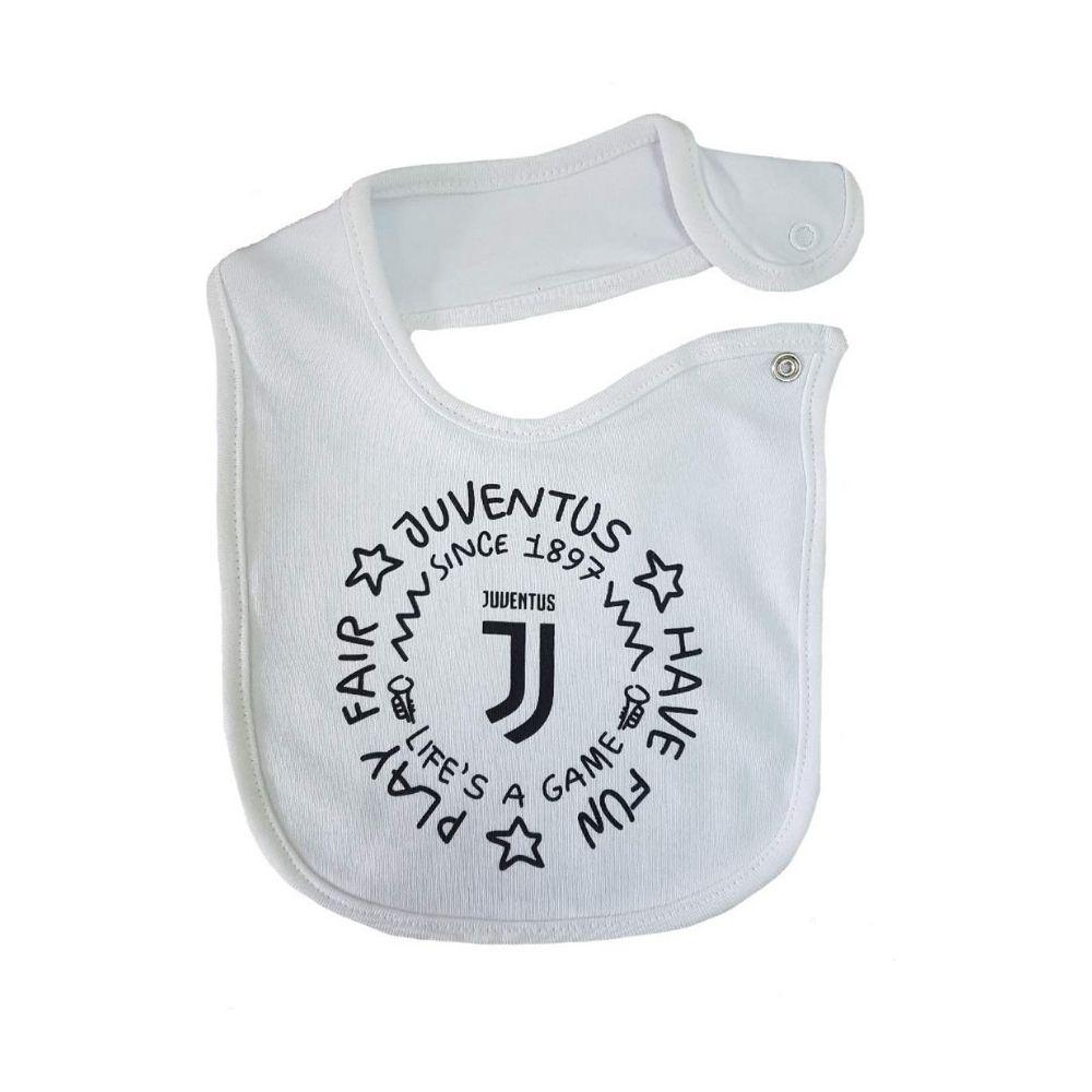 Bavaglino bavetta neonato Juventus