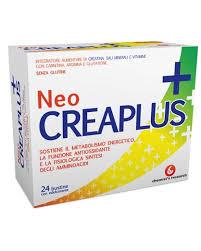 NeoCreaplus 24bs Integratore di Creatina Sali Minerali e Vitamine con Carnetina, Arginina e Glutatione