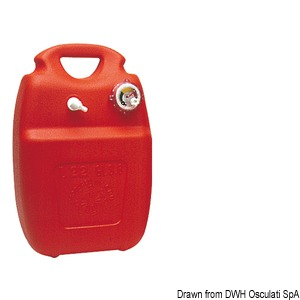 serbatoio carburante con quadrante 22lt