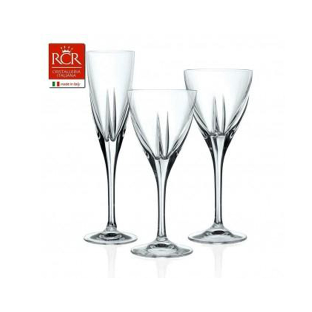 Rcr Fusion Confezione Set Bicchieri 18pz
