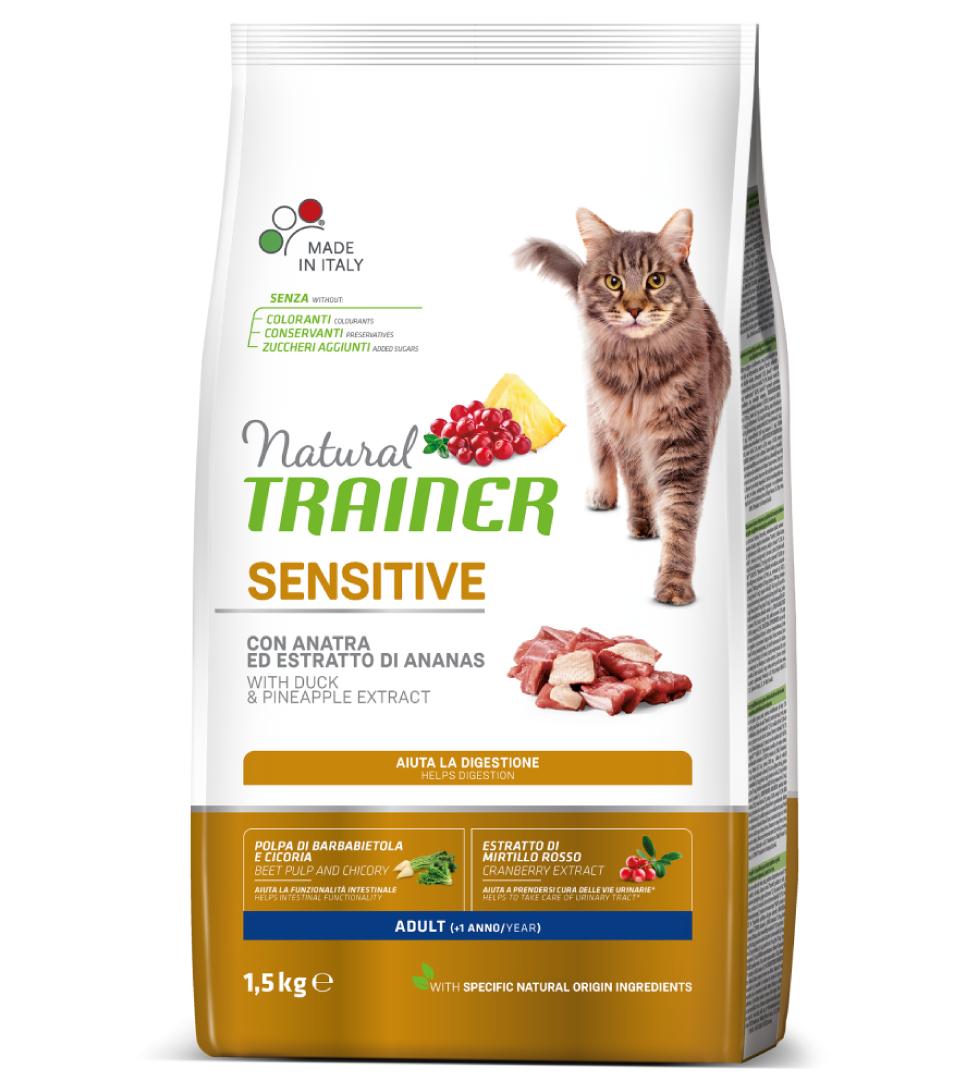 Trainer Natural Cat - Sensitive - 1.5 kg
