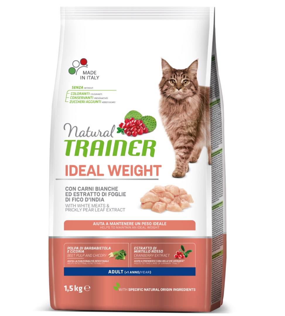 Trainer Natural Cat - Ideal Weight - 1.5 kg