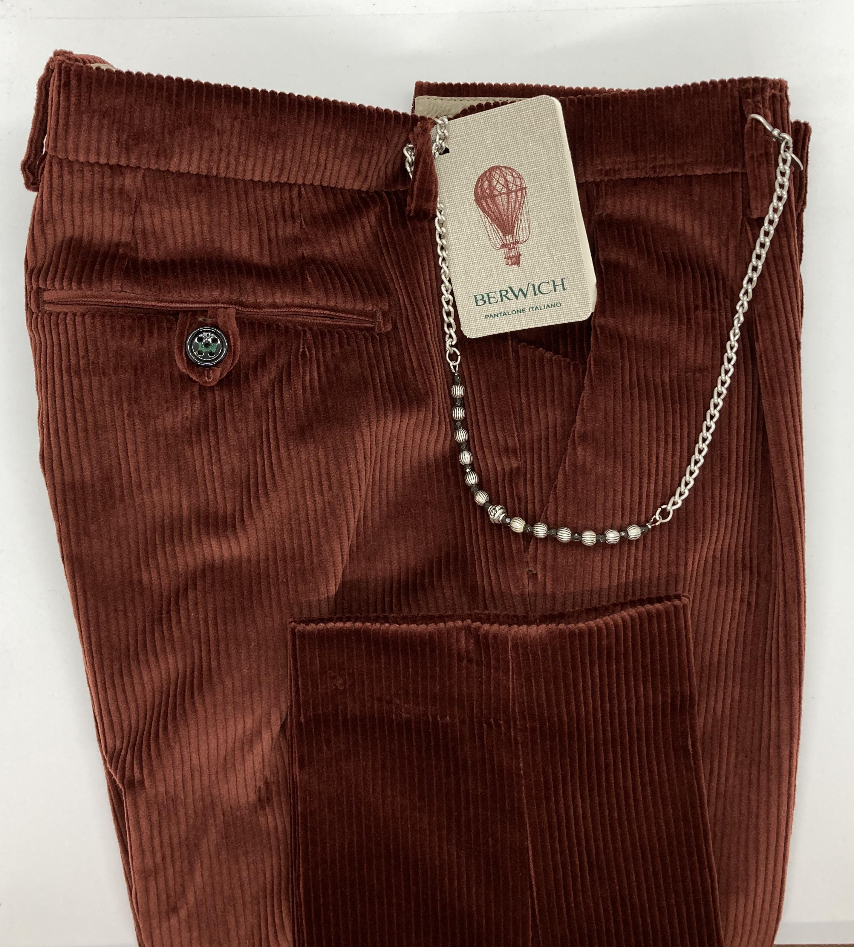 Pantalone velluto 1000 righe Berwich