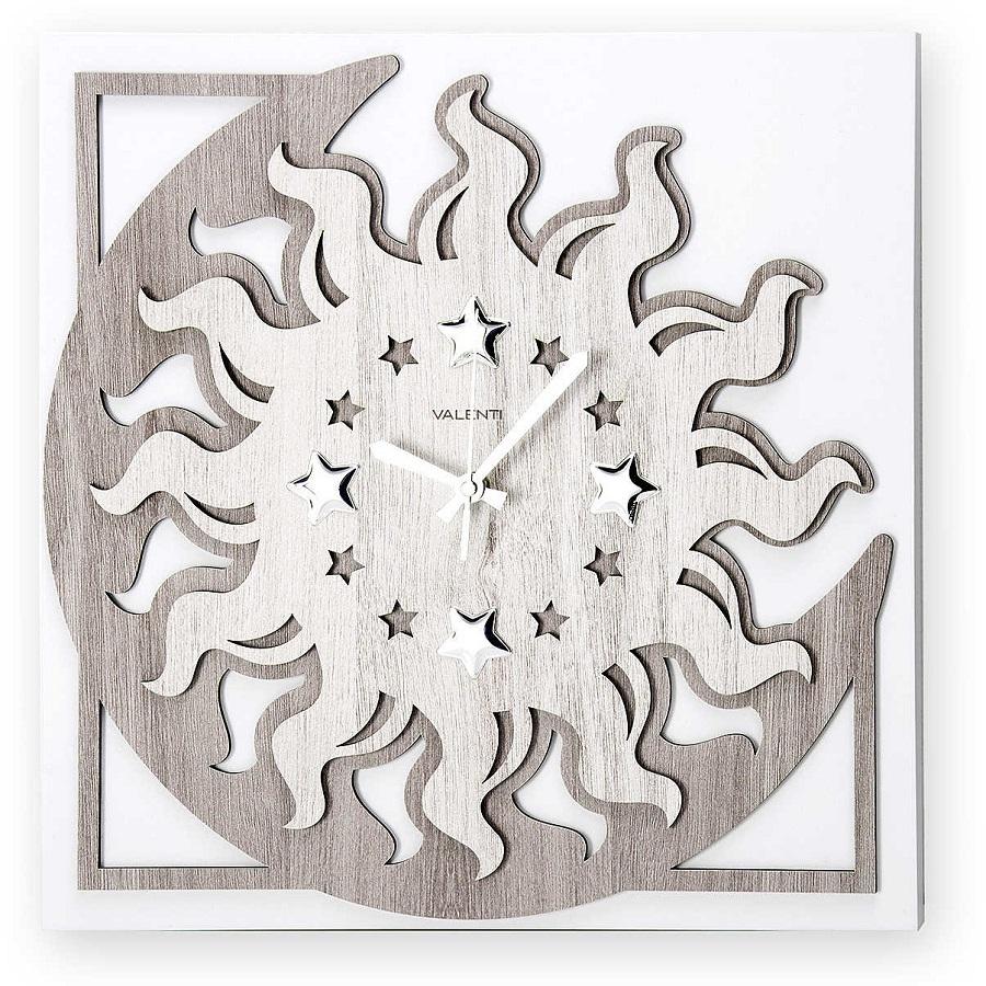 Valenti & Co orologio da parete, sole e luna