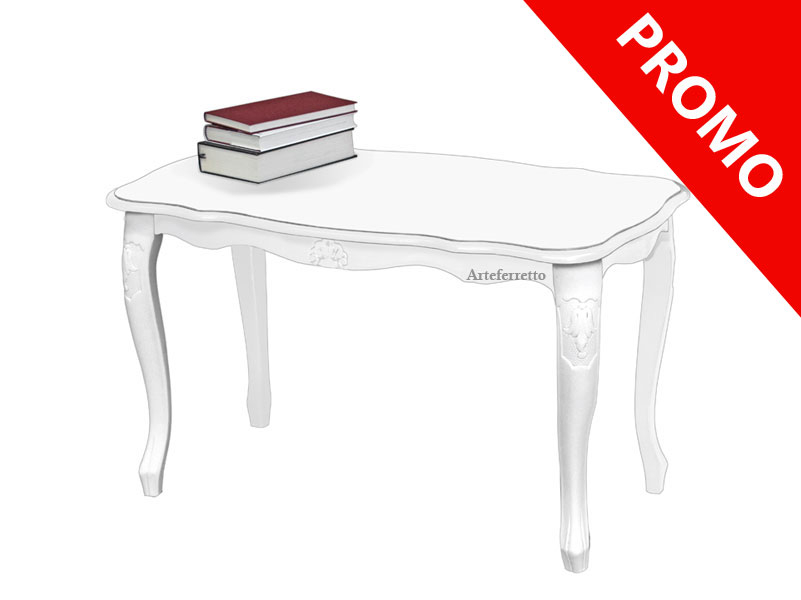 Classic rectangular coffee table in wood - OFFER