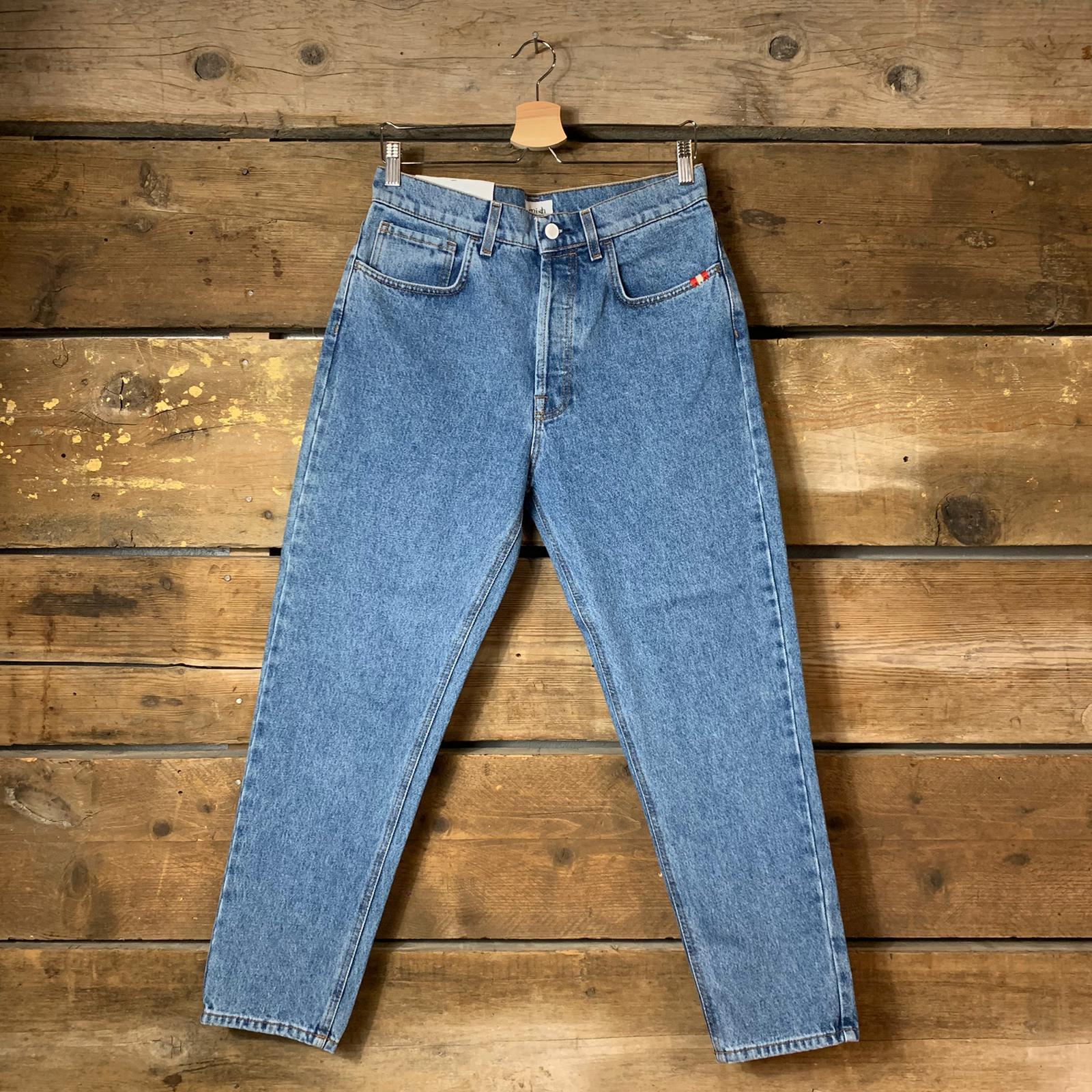 Jeans Uomo Amish Jeremiah Columbus Super Stone