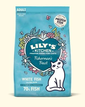 LILY'S KITCHEN CROCCHETTE PER GATTO 800GR FISHERMAN'S FEAST