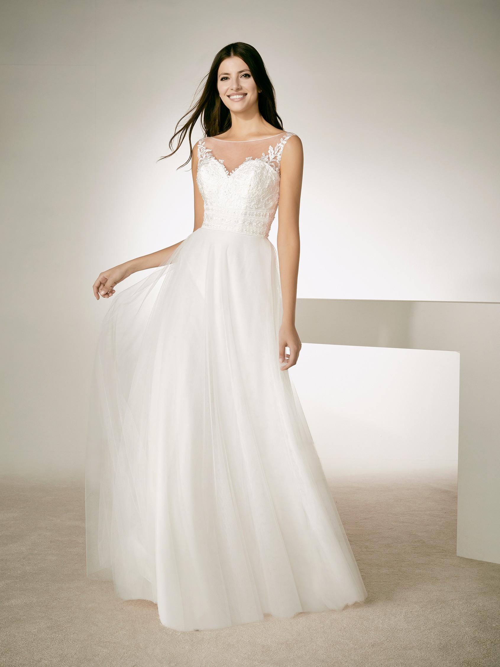 Abito sposa mod. JUL linea WHITE ONE - PRONOVIAS