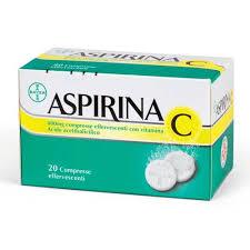 Aspirina C 20 comprese effervescenti