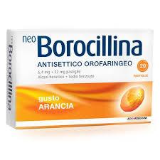 Neoborocillina Miele Limone 16 pastiglie