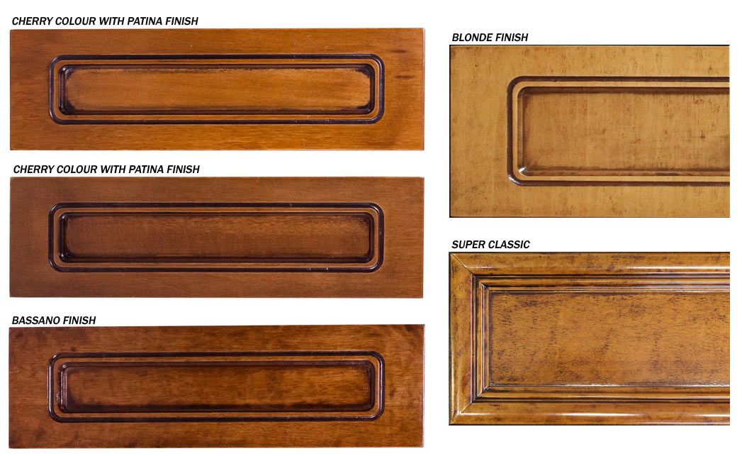 Furniture colour samples