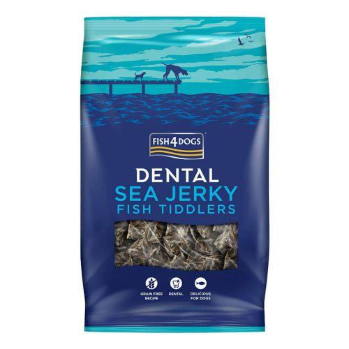 ORIGINAL SEA JERKY DENTALBTREATS FISH4DOGS  TIDDLERS 100 GR