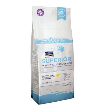 FISH4DOGS SUPERIOR WEIGHT CONTROL ADULT 6 KG
