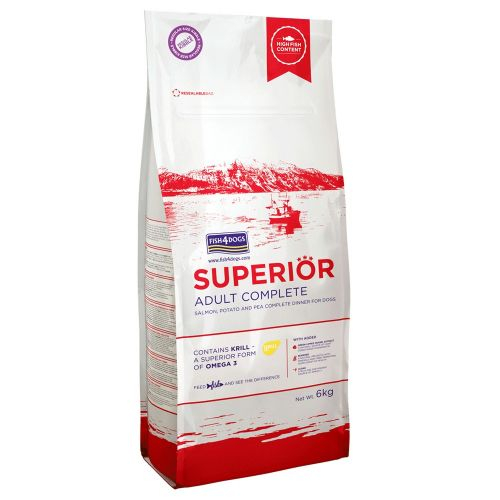 FISH4DOGS SUPERIOR ADULT 6 KG SMALL