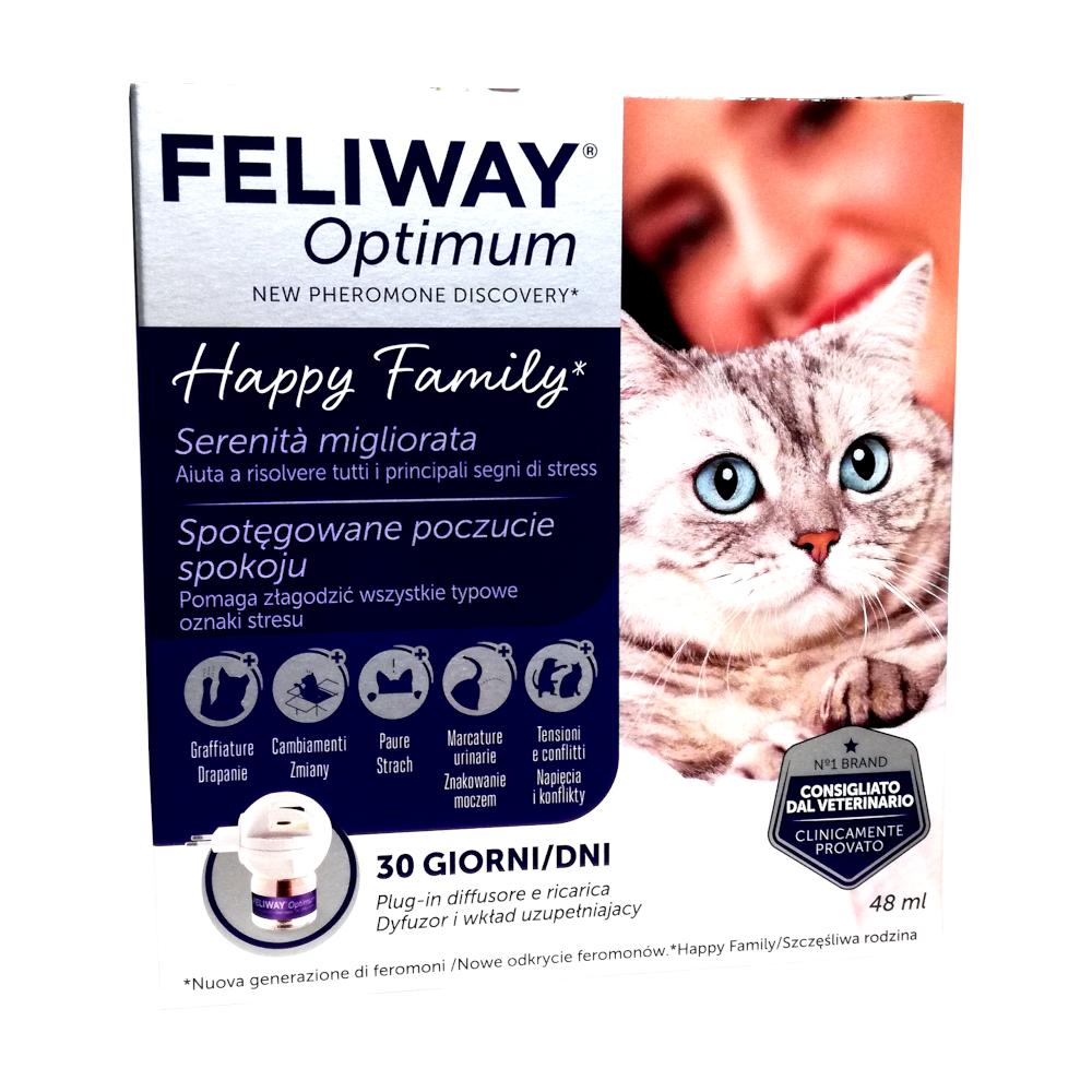 FELIWAY OPTIMUN - diffusore + ricarica 48 ml