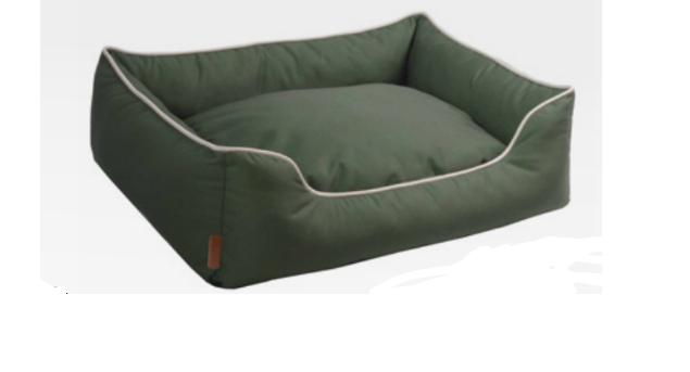 Cuccia per cani Revenent lounge verde disponibile in varie misure Croci