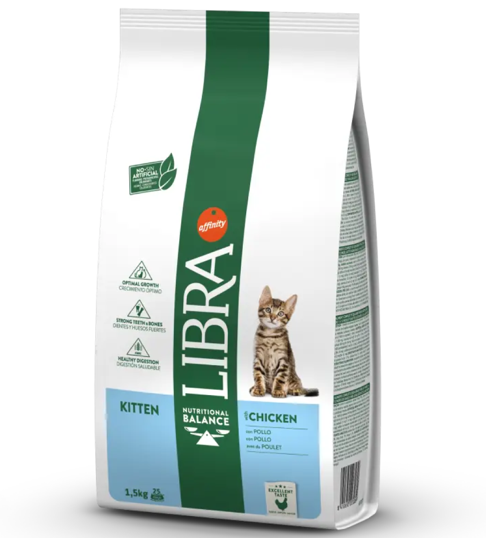 Libra Cat - Kitten - Pollo - 1,5 kg
