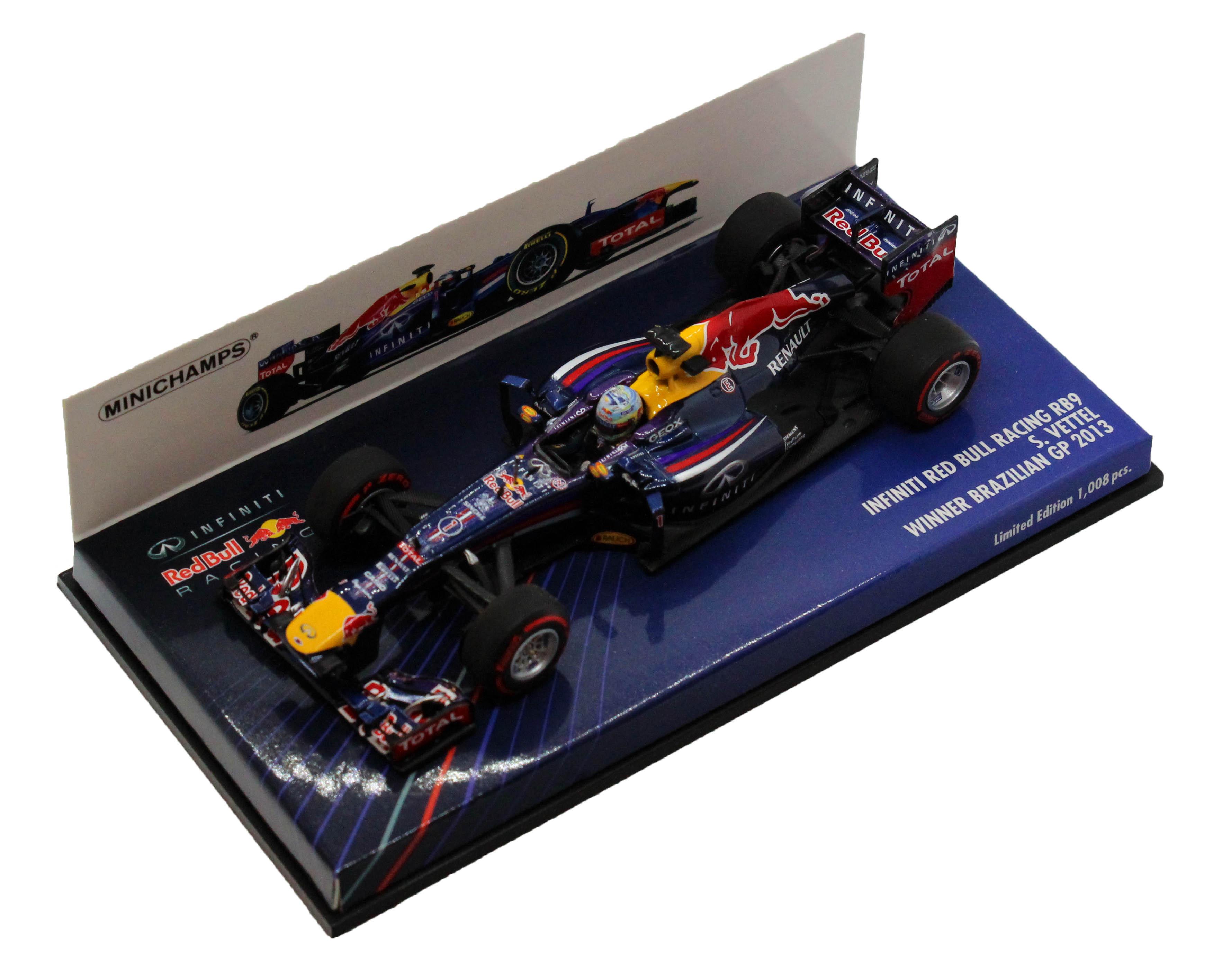 Infiniti Red Bull Racing RB9 Sebastian Vettel Winner Brazilian Gp 2013 1/43
