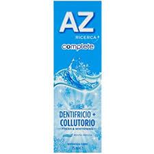 AZ Complete dentifricio contiene collutorio
