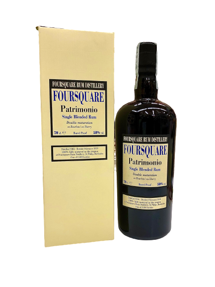 Rum Foursquare Patrimonio Single Blended Rum 2004 - 2019 - Barbados