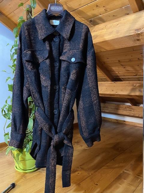 Camicia Cappotto Maxispacco quadri Vicolo