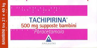 Tachipirina 500 mg supposte